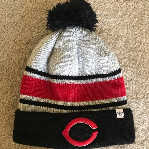 47 Other - 47 brand Cincinnati reds mlb beanie winter knit